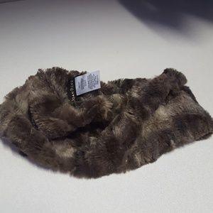 Faux fur ear band or neck warmer